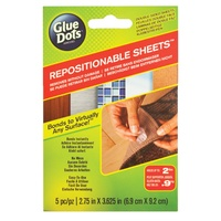 Glue Dots Repositionable Removable Bonds to Virtually Any Surface 5pc