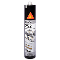 Sika Sikaflex 252 High Strength structural Adhesive Sealant [White]