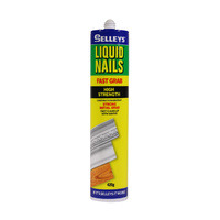 Selleys Fast Grab Liquid Nails High Strenght Construction Adhesive Cartridge 420g
