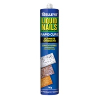 Selleys Liquid Nails Rapid Cure Waterproof Polyurethane 10 min 325g