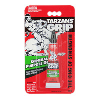 Tarzan's Grip General Purpose Glue Clear Flexible Water Resistant 30ml